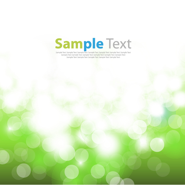 Blurred Light Bokeh Abstract Background lights green bubbles bokeh blurred background abstract