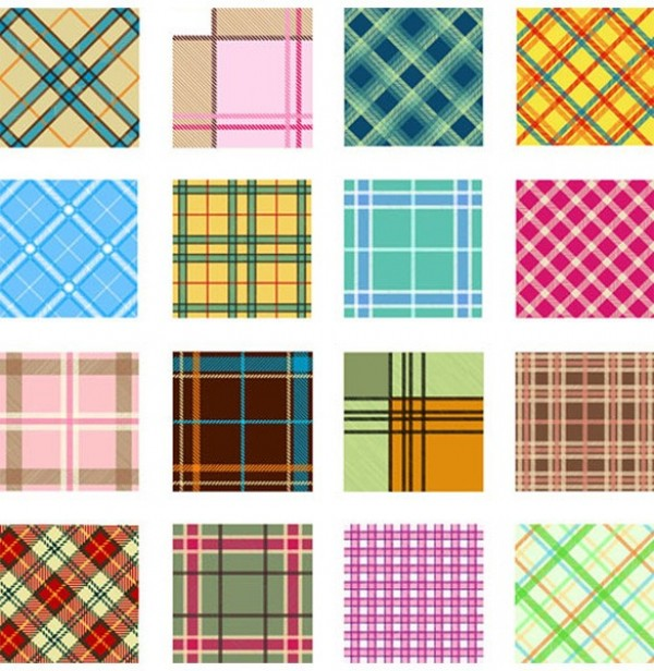 Retro Checkered Vector Plaid Patterns woven web vintage vector unique stylish style seventies retro quality plaid patterns pack original modern illustration high quality graphic fresh free download free download design creative cloth checkered checked 70's