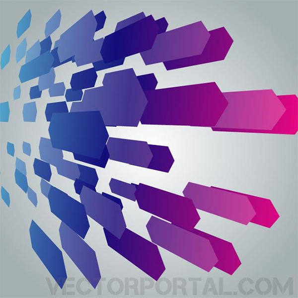3D Shapes Abstract Business Background vector tech shapes purple modern free download free blue background abstract 3d