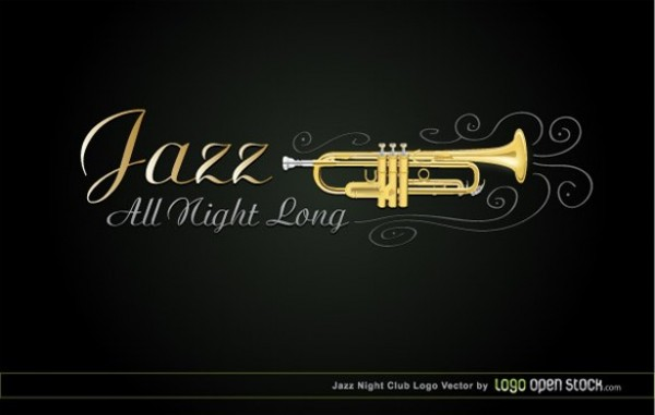 Jazzy Musician Business Card Template web vector unique ui elements trumpet template stylish quality presentation original night club new musician music jazz player interface illustrator identity horns high quality hi-res HD graphic fresh free download free elements download detailed design creative club card business card ai