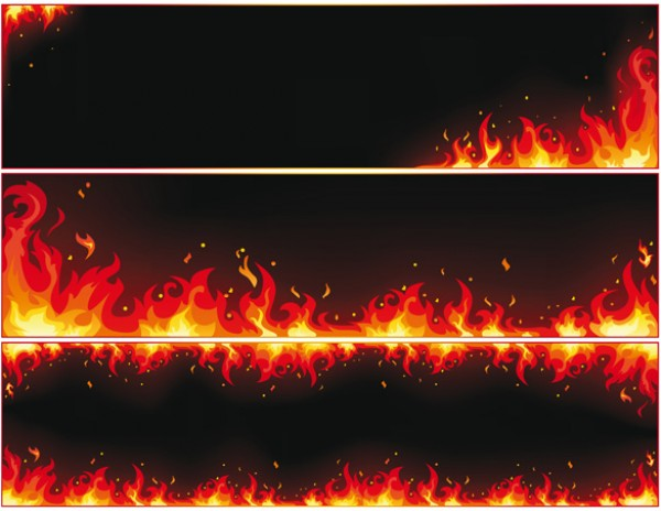 Red Hot Fire Vector Backgrounds vectors vector graphic vector unique quality photoshop pack original modern illustrator illustration high quality fresh free vectors free download free flames fire download creative background ai
