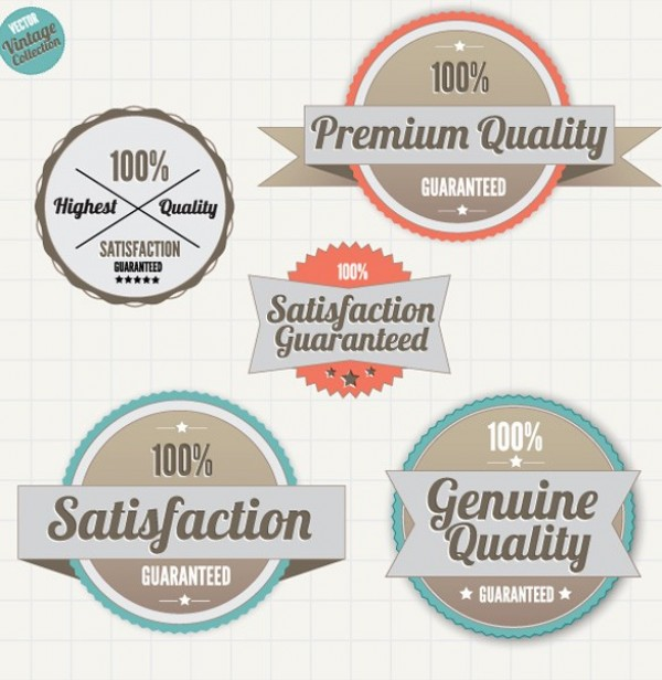 Premium Quality Vector Label Stickers web vector unique ui elements stylish stickers satisfaction guaranteed quality premium original new labels interface illustrator high quality hi-res HD graphic fresh free download free elements download detailed design creative 100%