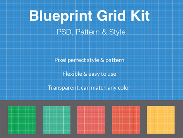 Transparent Blueprint Grid Pattern Kit ui elements psd pattern interface grid free download free download blueprint pattern blueprint grid blueprint