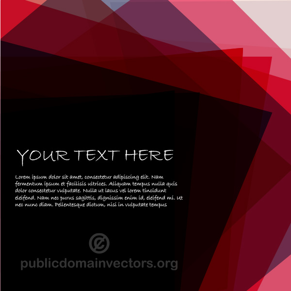Layered Sheets Cover Vector Background vector transparent squares red layered free cover abstract