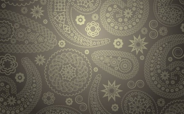 High Detail Paisley Ornaments Vector Pattern web vector unique taupe stylish quality pattern paisley ornamental original illustrator high quality grey gray graphic fresh free download free elegant download design creative background