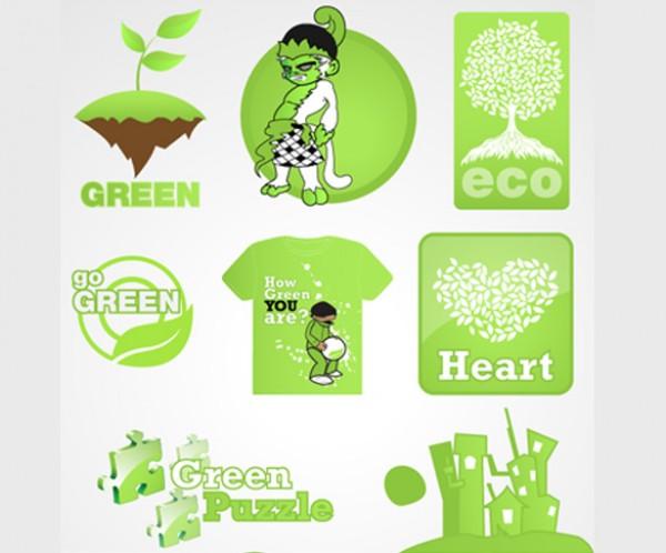 Environment Logo Pack recycle nature logo pack logo environmental