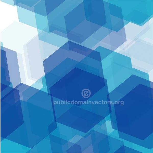 Blue Hexagon Tiles Abstract Background transparent tiles layered hexagon geometric free business background blue background abstract