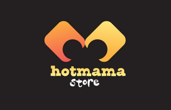 Red Hot Mama Store Logo yellow vectors vector graphic vector unique store statement quality photoshop pack original orange modern mama illustrator illustration identity hot high quality fresh free vectors free download free fashion download creative bold beauty ai