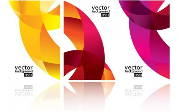 3 Colorful Abstract Ribbon Business Card Templates yellow web vector unique ui elements templates template stylish set ribbon red quality professional pink original new interface illustrator high quality hi-res HD graphic fresh free download free eps elements download detailed design creative colorful business card abstract