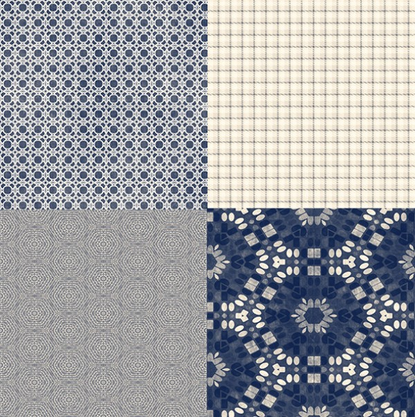 16 Blue Tone Grunge Style Tileable Patterns ui elements ui tileable squares set patterns pattern set pattern grunge free download free cream checked blue