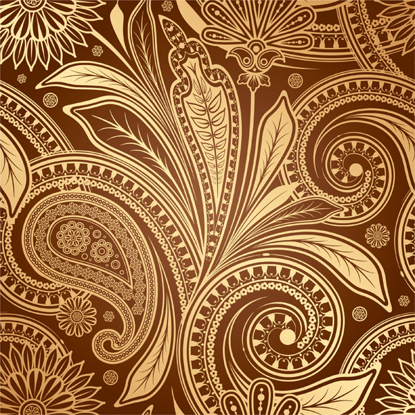 Orate Floral Paisley Seamless Pattern vintage vector seamless pattern paisley ornate free download free floral background