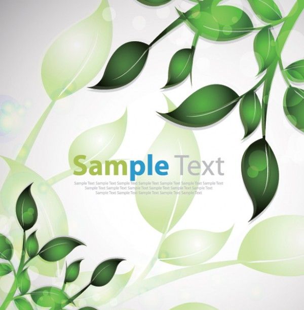Green Summer Leaves Vector Background vine vectors vector graphic vector unique summer spring quality photoshop pattern pack original modern leaves leaf illustrator illustration high quality green fresh free vectors free download free ecology eco download creative background ai abstract