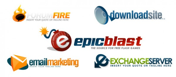 Quality Logo Pack psd files photoshop logos logo designs fresh logos free logos psd corporate logos collection