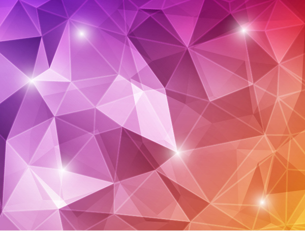 Abstract Polygonal Vector Background squares polygonal cubes background abstract