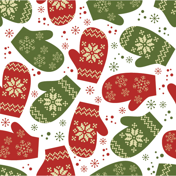 Christmas Mittens Winter Pattern Background winter pattern winter vector snowflakes seamless pattern mitts mittens mitten pattern free download free christmas