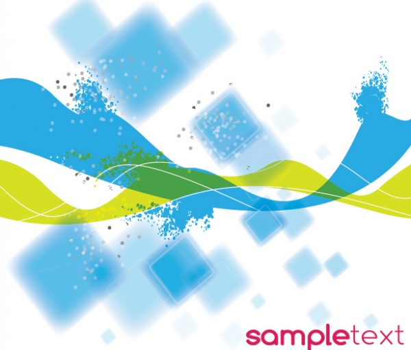 Blue Green Abstract Squares & Ribbons vectors vector graphic vector unique squares ribbons quality photoshop pattern pack original modern illustrator illustration high quality green fresh free vectors free download free download creative blue background ai abstract
