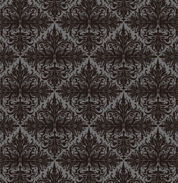 Vintage Floral Scroll Seamless Vector Pattern vector unique stylish seamless scroll quality pattern original old fashioned modern illustrator high quality graphic free download free floral download dark creative background