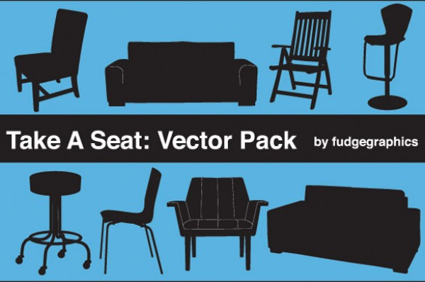 8 Silhouette Furniture Vector Items web vectors vector graphic vector unique ultimate stool sofa silhouettes quality photoshop pack original new modern illustrator illustration high quality furniture fresh free vectors free download free download design creative couch chair arm chair ai