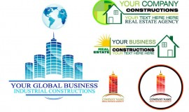 6 Real Estate Global Company Logos