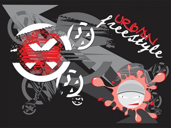 Urban Freestyle Abstract Background urban background urban splash skaters graffiti freestyle free background free dark
