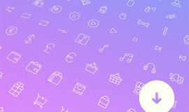 100+ Minimal Line Vector Icons