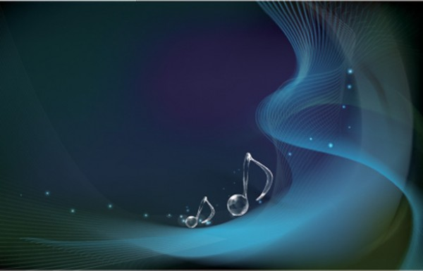 Glass Musical Notes Wave Background wave vectors vector graphic vector unique quality photoshop pack original ocean notes musical music modern illustrator illustration high quality glass fresh free vectors free download free download creative background ai abstract
