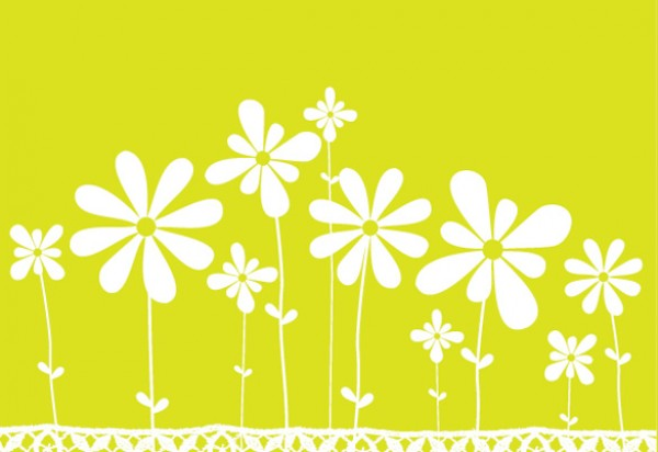 Clean Simple Flower Meadow Background vectors vector graphic vector unique simple quality photoshop pack original modern meadow illustrator illustration high quality fresh free vectors free download free flower download daisy daisies creative background ai