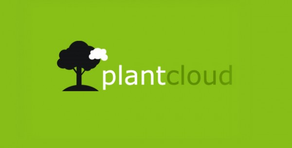 PlantCloud Logo vector tree plants plantcloud plant photoshop logo grown forest ecology ecological eco earth day earth clever