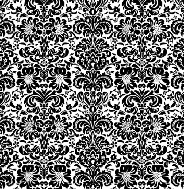 Vintage Tile Floral Wallpaper Background web wallpaper vintage vector unique ultimate traditional tile tilable swirl stylish seamless retro quality pattern original illustrator high quality graphic fresh free download free floral download design creative background