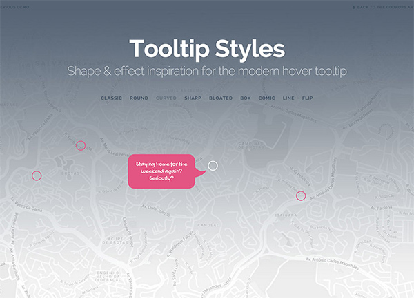 Hover Tooltip Styles & Effects Set tooltip hover tooltip hover effects css