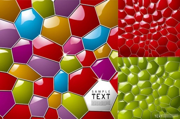 Glassy Colorful Mosaic Vector Pattern web vector unique stylish quality pattern original new mosaic illustrator high quality graphic glossy glassy fresh free download free download design creative colors colorful bright background