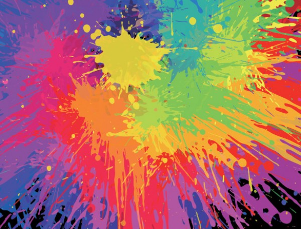 Pretty Paint Splashes and Splats vectors vector graphic vector unique splats splashes splash spill colorful quality photoshop paint pack original modern illustrator illustration high quality fresh free vectors free download free download creative background ai