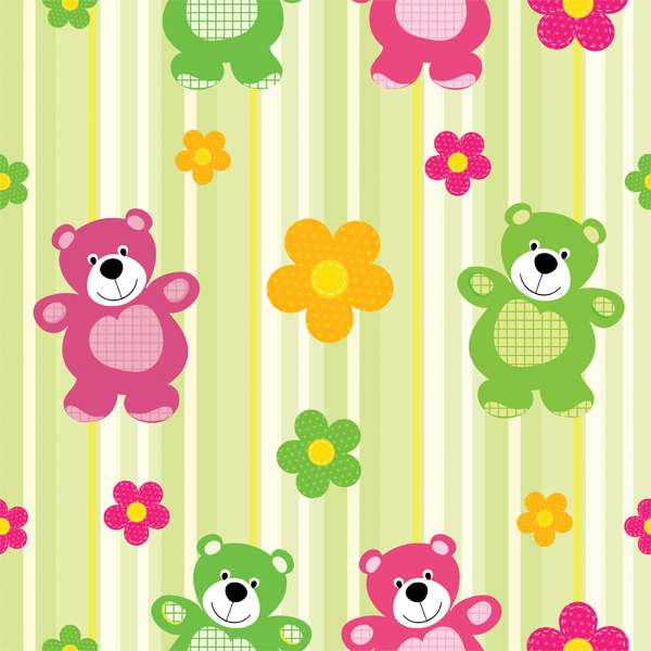 Children's Teddy Bear Striped Pattern web vector unique ui elements teddy bear stylish striped stripe quality pattern original new interface illustrator high quality hi-res hearts HD graphic fresh free download free flowers floral eps elements download detailed design creative colorful children child pattern child cartoon bear background baby pattern baby