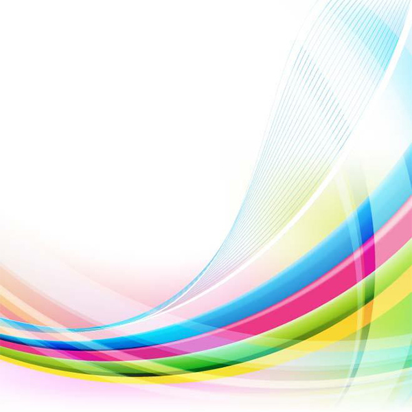 Colorful Curved Lines Abstract Background transparent curves colorful background abstract