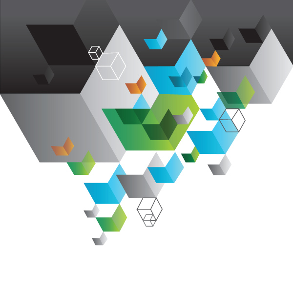 Abstract Cubes Geometric Background squares geometric cubes business background abstract