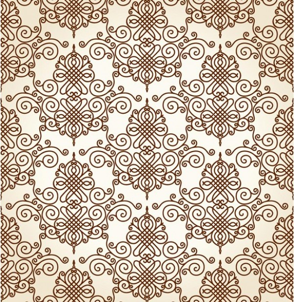 Delicate Vintage Scroll Pattern Vector Background web vintage vector unique stylish seamless scroll retro quality pattern original old illustrator high quality graphic fresh free download free download design delicate creative background