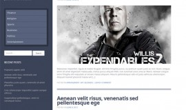 Lucas Responsive WordPress WP Template