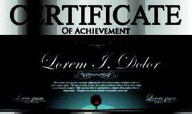 Modern certificate creative design vector set 05