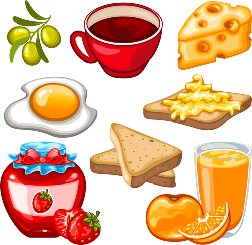 Fruit drinks food vector graphic set 03 vector graphic graphic food drinks drink design