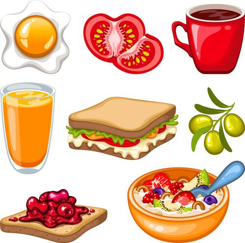 Fruit drinks food vector graphic set 02 vector graphic graphic food drinks drink