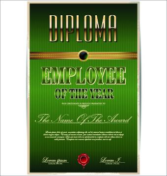 Diploma creative design vector 02 vector diploma creative