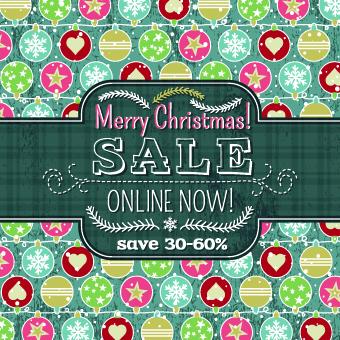 Christmas big sale creative design vector background set 03 Vector Background set creative christmas big sale background