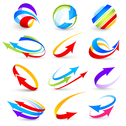 Abstract colorful arrows vector graphics vector graphics vector graphic graphics graphic colorful arrows arrow abstract