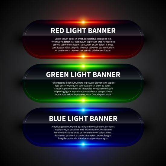 Colored neon infographic vectors 09 neon infographic colored