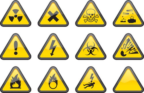 Triangle safety warning signs 01 warning triangle signs safety