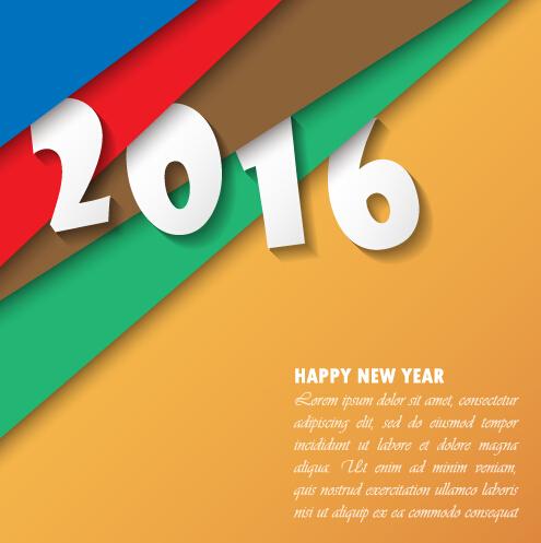 2016 new year creative background design vector 05 year new design creative background 2016