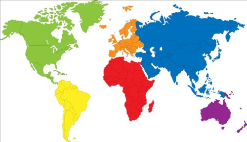Simple color world map vector 02 gooloc free eps file simple color world map vector 02 download name simple color world map vector 02 license creative commons attribution 30 gumiabroncs Image collections