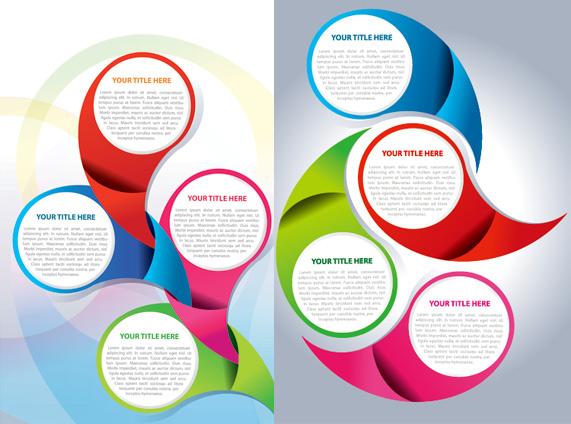 Circular background design 1 Vector vector design circle background