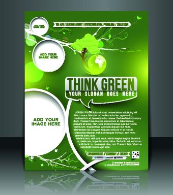 16gcu40wxamcs53 Business flyer and brochure cover design vector 37