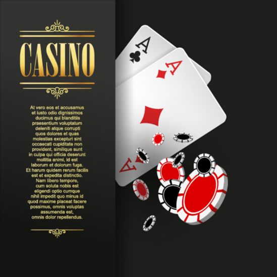 Vector casino games background graphic 03 159135 graphic games casino background